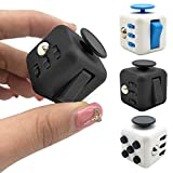 Fidget Cube with Silent Features,Comes in GIFT BAG with 2 FREE Fidget toys