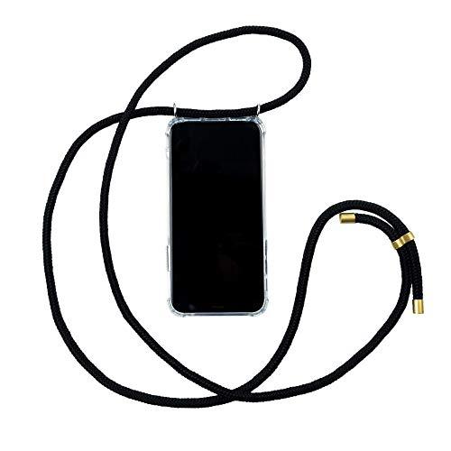 Hanek Funda iPhone 6/6S Plus Funda de móvil con cordón para Colgar – Cuerda para Llevar en el Cuello Colgante – Carcasa de TPU de Alta Resistencia – Deja el Bolso en Casa – Hecho a Mano