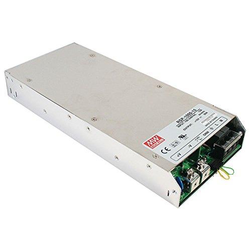 MEAN WELL RSP-1000-48 1008W 1U Metálico unidad de - Fuente de alimentación (1008 W, 90-264, 47-63, Activo, 16 ms, 90%)