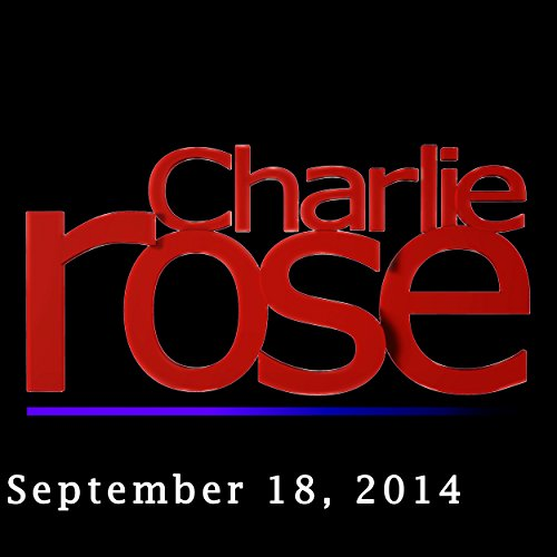 Charlie Rose: Michael Morell and Terry Gilliam, September 18, 2014 audiobook cover art