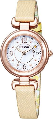 [シチズン]腕時計ウィッカ【有村架純コラボレーションモデル】ソーラーテック電波時計ハッピーダイアリーKL0-669-13レディース