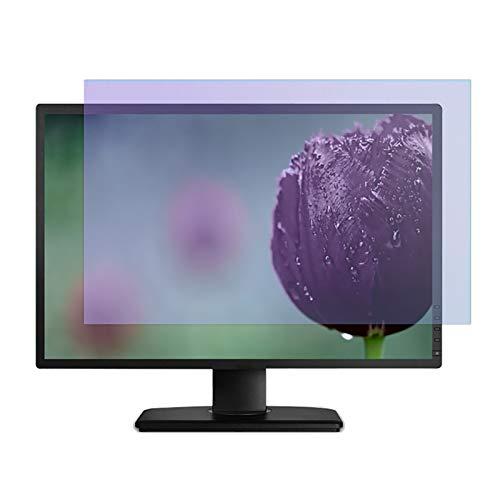 SYEA displayschutz Blendschutz Für Monitor, Elektrostatische Adsorption, Matt, Blaulichtschutz, 16:10 Seitenverhältnis(Size:27 in/58.1×36.3 cm)