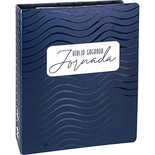Bíblia Sagrada Jornada - Azul escuro: Nova Almeida Atualizada (NAA)