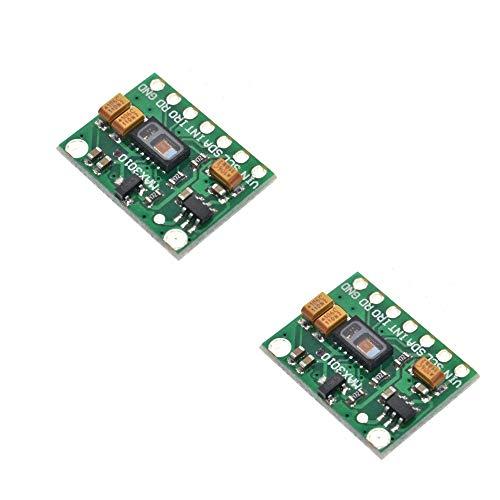 KOOBOOK 2Pcs MAX30102 Oximeter Heart Rate Beat Pulse Sensor Monitor Module Replace MAX30100 R6D3