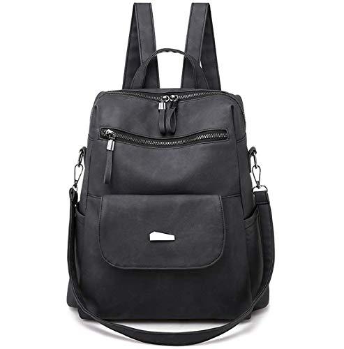 New women's bag pu backpack fashion retro women's bag