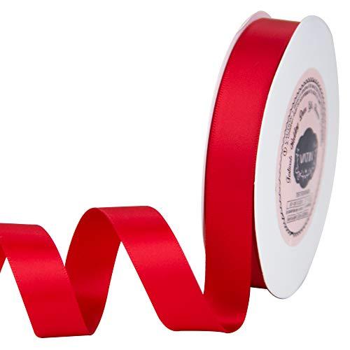 Red Satin Ribbon - 9