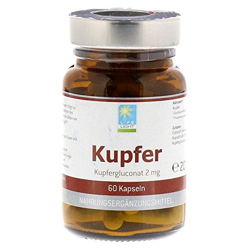 KUPFER 2 mg aus Kupfersulfat Kapseln 60 St