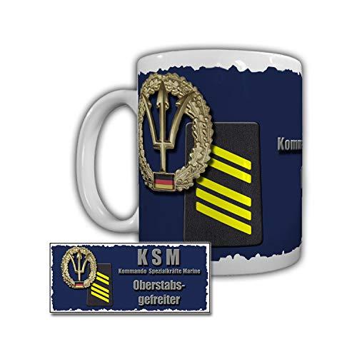 Tasse KSM Oberstabsgefreiter Marine Afghanistan Rangabzeichen B&eswehr#29277