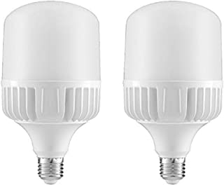 (2 Pack) 40W LED Standard E26 Base Commercial Grade Retrofit Light Bulb, 4500 Lumens, 5000K (Daylight), 300W Replacement, AC100~277V, LED Corn Light Bulb, Yard Light Bulb, Garage Light Bulb