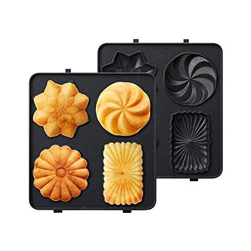 Tickas Fabricante de gofres eléctricos, Máquina para Hacer Waffles eléctricos Máquina para...