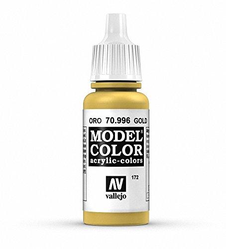 Vallejo Model Color Pintura Acrílica, Dorado (Gold), 17 ml
