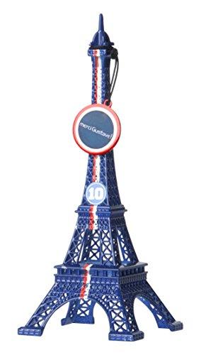 Merci Gustave MNGL3103 Tour Eiffel Mini gus 15cm n³10 p10313, Métal, Paris Saint Germain, 6 x 6 x 15,5 cm