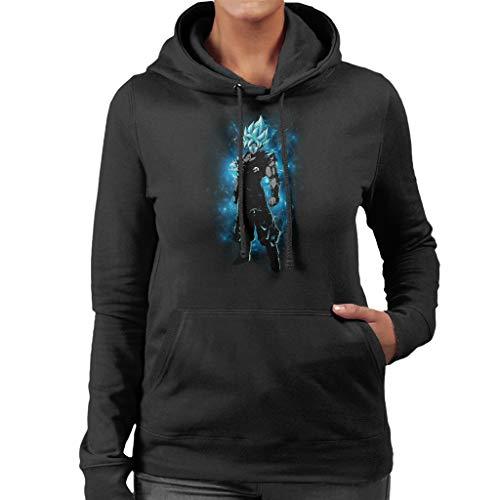 Cloud City 7 Goku Super Blue Women's Hooded Sweatshirt