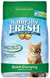 Naturally Fresh Walnut-Based Quick-Clumping Cat Litter, Unscented, 50 Pounds