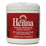 Henna, 100% Botánico color de pelo y acondicionador - Rainbow Investigación