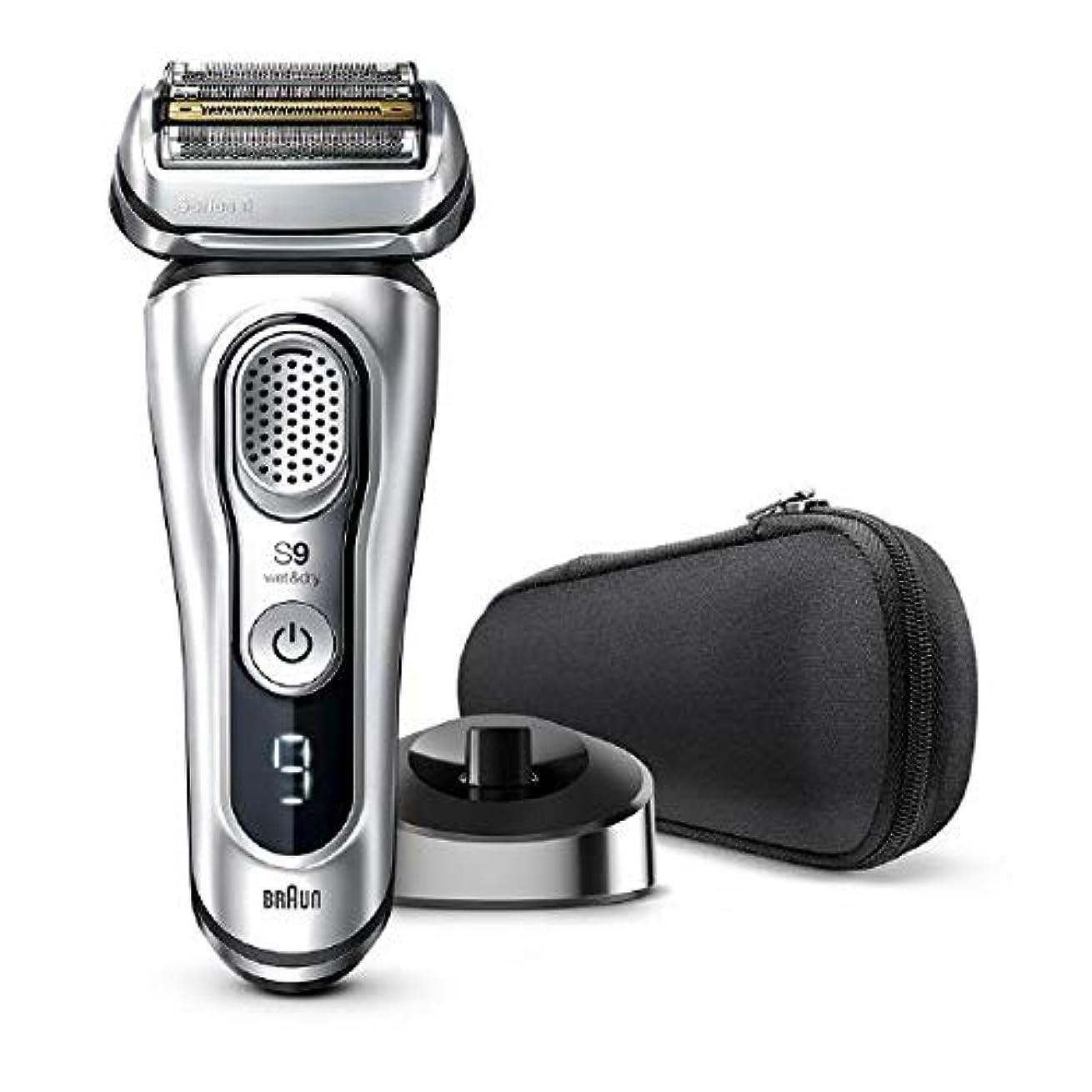 フレッシュ正確主観的ブラウン メンズ電気シェーバー シリーズ9 5カットシステム 水洗い/お風呂剃り可 9345s