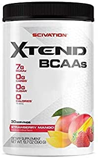 Scivation Xtend BCAA Powder, Strawberry Mango, 30 Servings (B01M9FB9FH) | Amazon price tracker / tracking, Amazon price history charts, Amazon price watches, Amazon price drop alerts