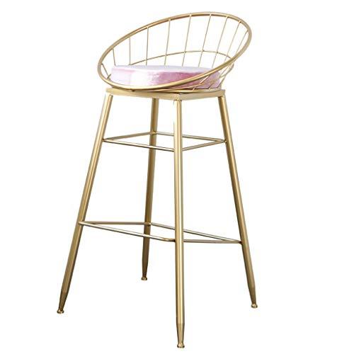 C-J-Xin Iron Art Bar Chaise, Accueil Europe du Nord Style Fauteuil Golden Bar Tabouret Tabouret de Bar Chaise de Bar Tabouret Tabouret Tabouret Tabouret Tabouret Tabouret Tabouret Tabouret Style Uni