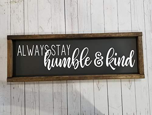 Farmhouse Sign  Kind Is Cool