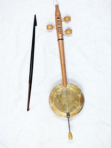 Kurdische Saite Instrument Qualität walnuss geschnitzt Rebab RUBAB W/A Schleife–Tasche.