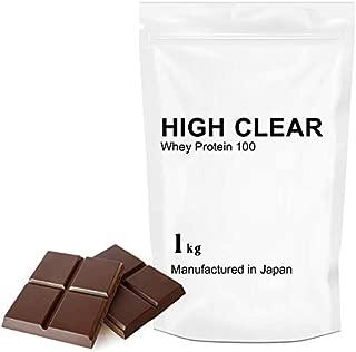 【期間限定WPC85使用タンパク質アップ】WHEY グラスフェッドプロテイン100(40食分) リッチチョコ1kg HIGh CLEAR(ハイクリアー)