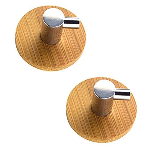 JsJr-K-In Gancho para toallas, ganchos adhesivos en forma de L, de acero inoxidable, para la pared, para la cocina en el hogar (tamaño 50 x 25 x 16 mm)