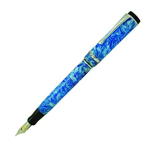 Conklin Duragraph - Pluma estilográfica (azul hielo) – pluma estilográfica de punta ancha azul hielo (CK71350:CK7154)