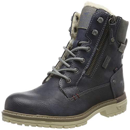 MUSTANG Unisex-Kinder 5051-608-820 Klassische Stiefel, Blau (Navy 820), 37 EU