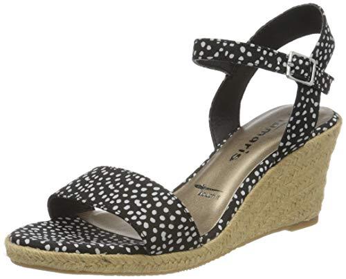 Tamaris 1-1-28300-24 028 dames open sandalen met sleehak