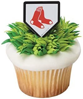 MLB Cupcake Topper Rings - Boston Red Sox