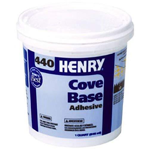 Henry, WW Company 12109 QT #440 Cove Adhesive, Beige