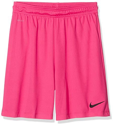 Nike Park II Knit Short Mixte Enfant sans Slip Intérieur, Rose (Vivid Pink/Black), XL