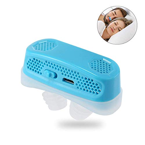 SL Anti Snoring Devices Air Purifier Sleep Aid Snore Stopper Mini CPAP Nose Machine