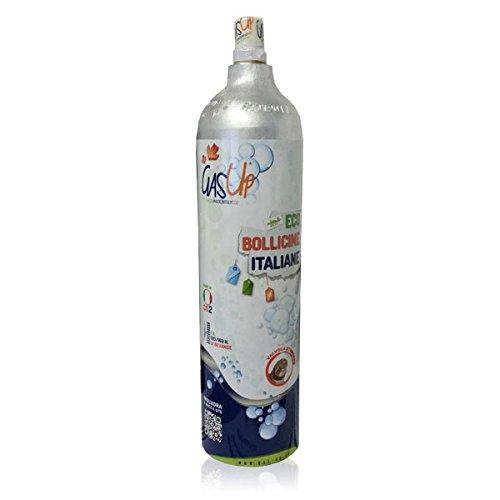 Rechange Bouteille CO2de 1kg gas-up (compatible: Wassermaxx Soda Stream Soda Breezy Happy...