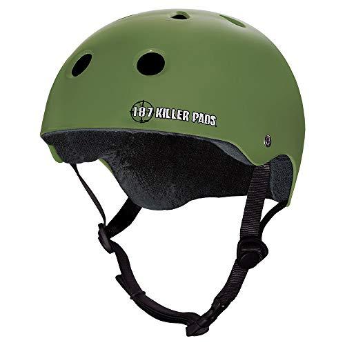 Best 187 killer pads skateboarding helmets review 2021 - Top Pick