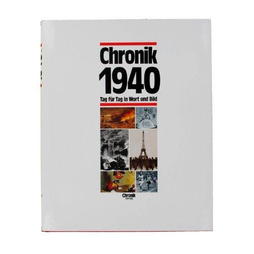 Chronik 1940 - Jahrgangsbuch-Chronik 1940 - Jahrgangsbuch 1940