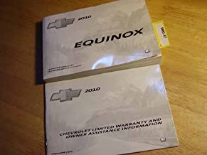 2010 Chevrolet Chevy Equinox Owners Manual Guide Book