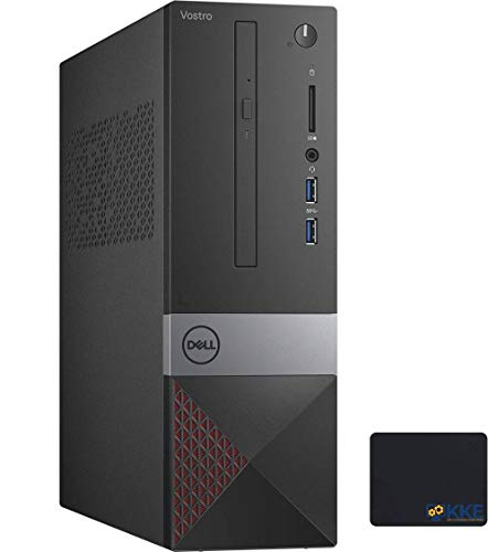 Dell Vostro (Better Than Inspiron) 3000 Series 3471 Small Form Factor SFF Desktop, Intel Core i3-9100 Processor, 8GB RAM, 1TB Hard Disk Drive, Wi-Fi, HDMI, VGA, DVD, Windows 10 Pro, KKE Mousepad