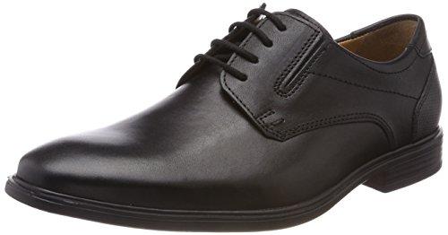 FRETZ men Ragusa, Zapatos de Cordones Derby Hombre, (Noir 51), 39 1/3 EU