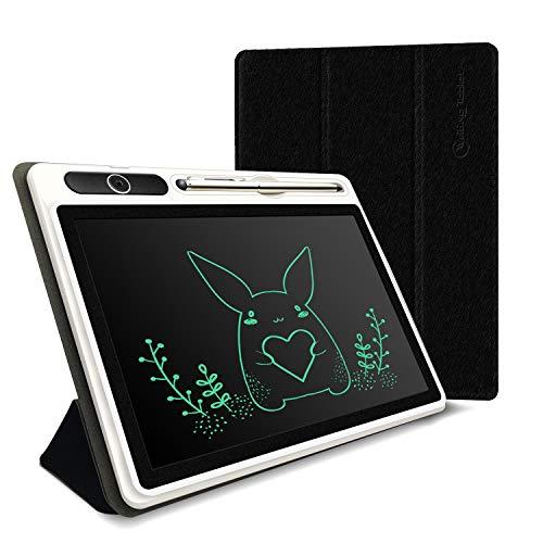 Alfheim LCD-Schreibtafel, 10 Zoll Digital Ewriter elektronisches Grafiktablett tragbar, Handschrift-Pad mit Memory Lock-Schutzhülle für Kids Home School Office
