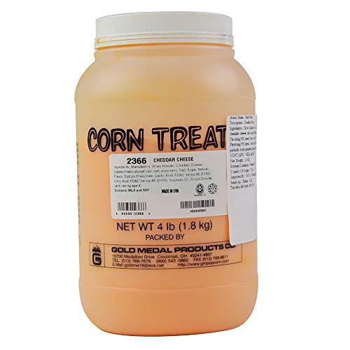 Gold Medal 2366 4-lb Jar Shake On Savory Flavor Mix, Cheddar Cheese