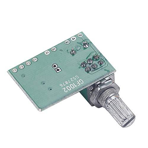 PAM8403 Mini 5 V Digitaler Verstärker Board Audio Power Amp USB 5 V Netzteil mit Schalter Potentiometer
