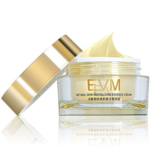 EVM Retinol Skin-revitalizing Essence Cream, Anti-Aging Antioxidant Firming Tightening Skin, Smoothing Fine Lines and Wrinkles, 48g.