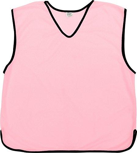 Baberos de entrenamiento PROSPO de malla deportiva para fútbol, rugby y fútbol, color rosa, niños pequeños (menores de 6 años)