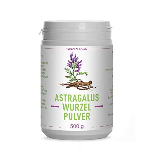 Astragalus-Wurzel-Pulver (Astragalus membranaceus) | 500g | 100% naturrein ohne Zusätze | höchste Qualität | VEGAN | Meshfaktor 80 | Tragant