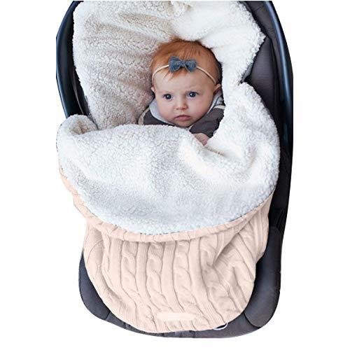 Oenbopo - Manta para bebé recién nacido, gruesa, para bebés de 0 a 12 meses