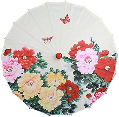 Tgnk Women Umbrella Selling shipfree rankings Japanese Cherry Silk Dance Blossoms Ancient