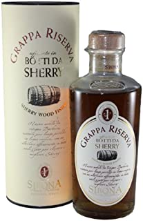 Sibona Grappa Riserva Sherry Wood 0,5 Liter