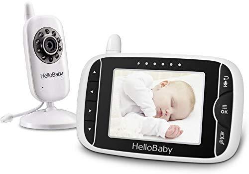 Intercomunicador para bebé con ampliación de imagen HelloBaby HB32