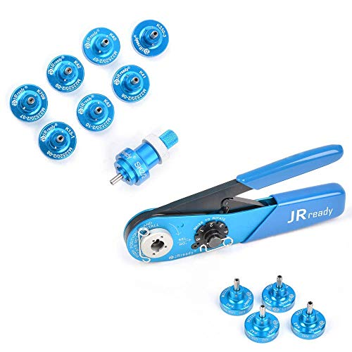 JRready ST5114 AFM8 Positioner Kit + ST1010 (YJQ-W1A AFM8+K13-1+K40+K42+K43) Crimp Tool Kit